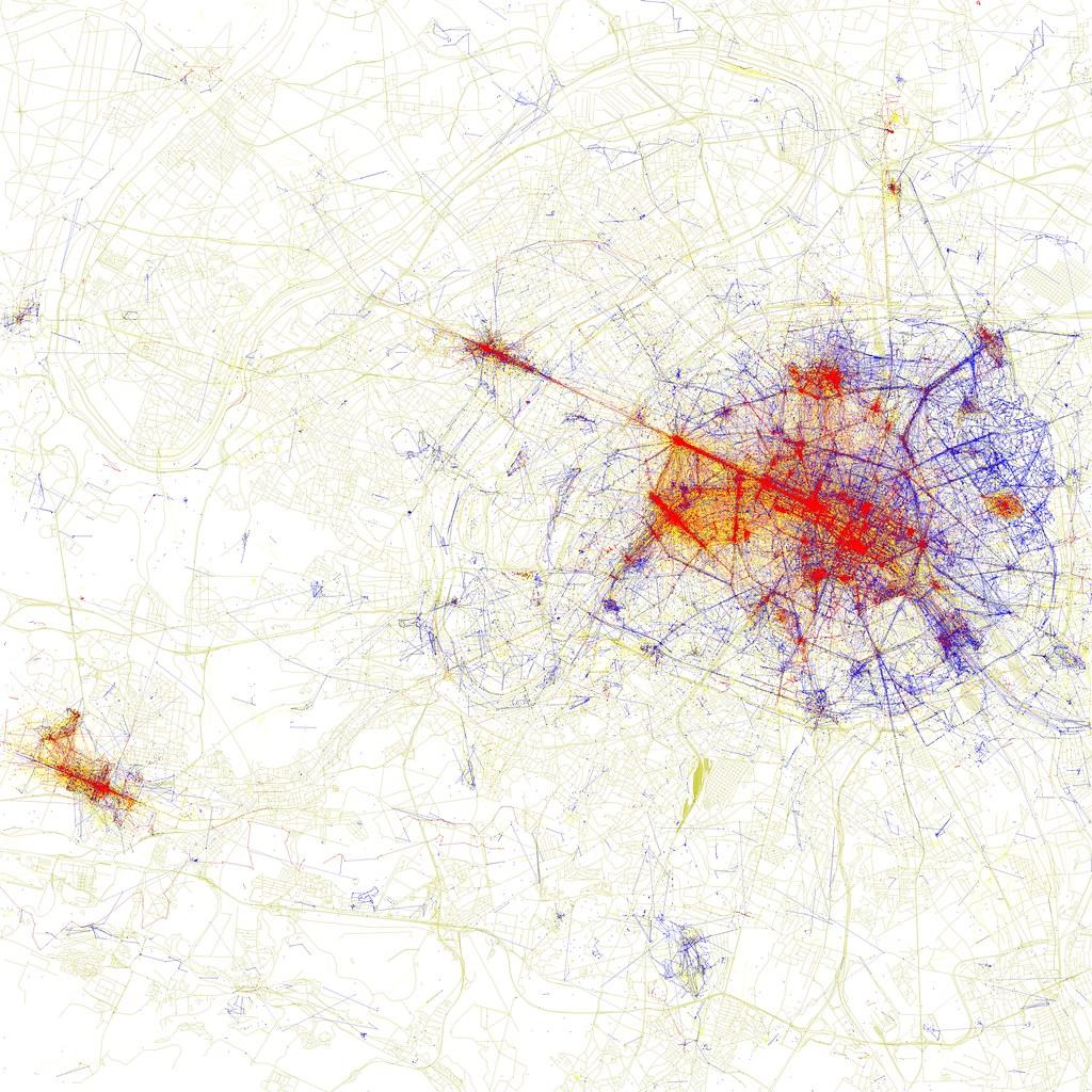 Une carte d'une zone de chalandise d'une franchise de véranda