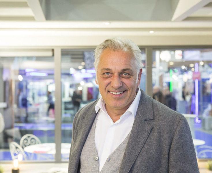 Stéphane Thébaut à la foire de Lyon