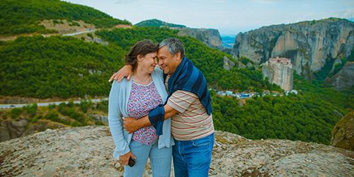 jeunes grands-parents, usagers de véranda